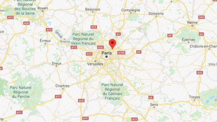 Le Blanc-Mesnil, en Seine-Saint-Denis. (GOOGLE MAPS)