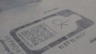 Marketing : de la publicité sur les trottoirs ? (FRANCE 2)