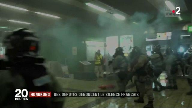 Hong Kong : des députés dénoncent le silence français
