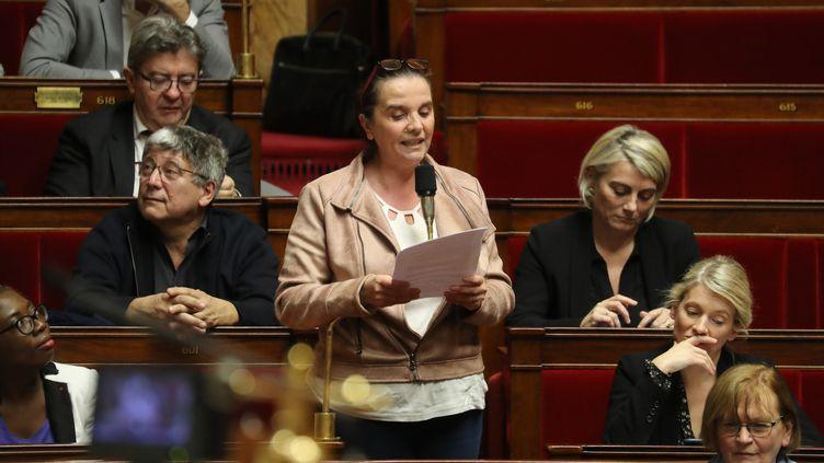 La députéeCaroline Fiatde la 6ème circonscription de Meurthe-et-Moselle enjanvier 2020. (LUDOVIC MARIN / AFP)