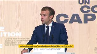 Peine de mort : Emmanuel Macron et Robert Badinter ont célébré le 40e anniversaire de son abolition (FRANCEINFO)