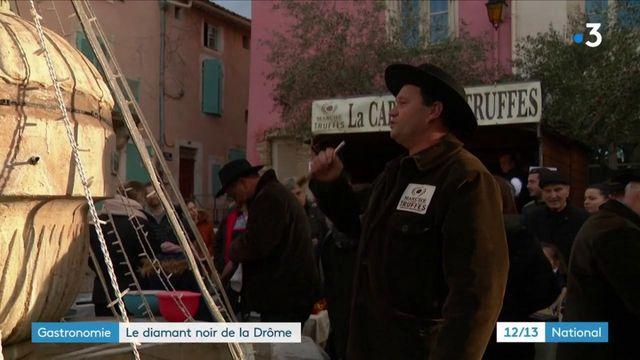 Gastronomie : un marché aux truffes unique en France
