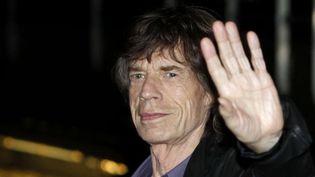 Mick Jagger à son arrivée au Trabendo (Paris), jeudi 25 octobre 2012.  (Thibault Camus/AP/SIPA)