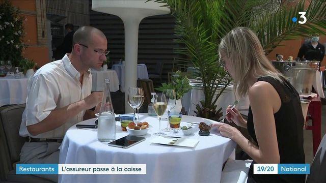 Assurances : Axa dégage 300 millions d'euros pour ses clients restaurateurs