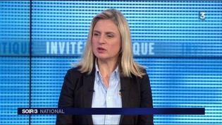 Valérie Debord, vice-présidente LR de la région Grand Est. (FRANCE 3)