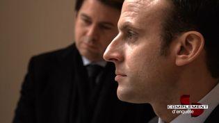 """""""Complément d'enquête"""" 5 janvier 2017 (CAPTURE D'ECRAN COMPLÉMENT D'ENQUÊTE/FRANCE 2)"""