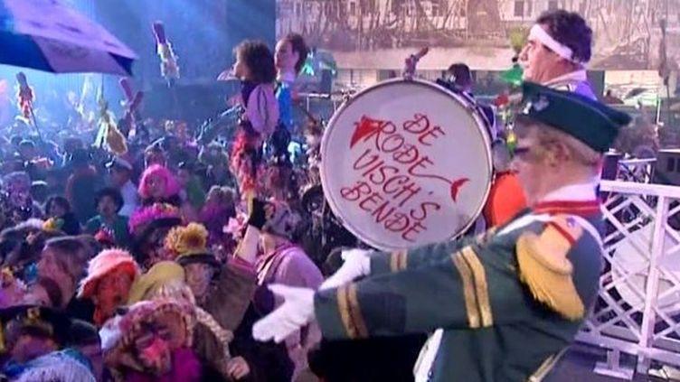 10 000 personnes étaient réunis pour entonner l'hymne à Jean Bart et célébrer l'ouverture du carnaval de Dunkeque  (France3 / Culturebox)