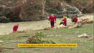 Des disparus recherchés dans le Gard (FRANCEINFO)