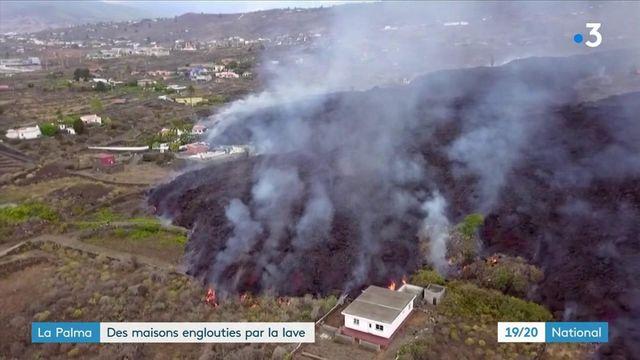 Espagne : à La Palma, des centaines d'habitations englouties par la lave après une éruption d'un volcan