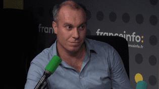 François Gemenne, chercheur en science politique à l'université de Liège et à l'université de Versailles Saint-Quentin-en-Yvelines. (FRANCEINFO)