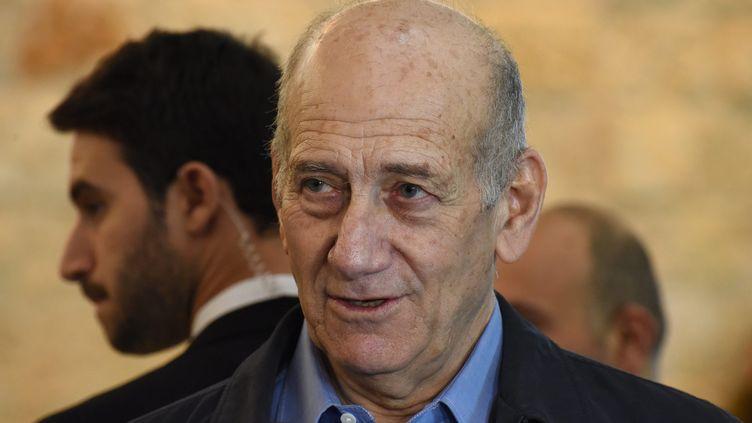 (La peine de prison d'Ehud Olmert a été ramenée à dix-huit mois de prison par la Cour suprême d'Israël  © MaxPPP)
