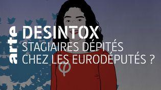 Non, l'offre de stage de Manon Aubry n'est pas sous-payée (ARTE/LIBÉRATION/2P2L)