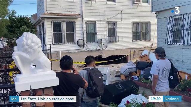 États-Unis : après le passage de la tempête Ida, l'état de choc