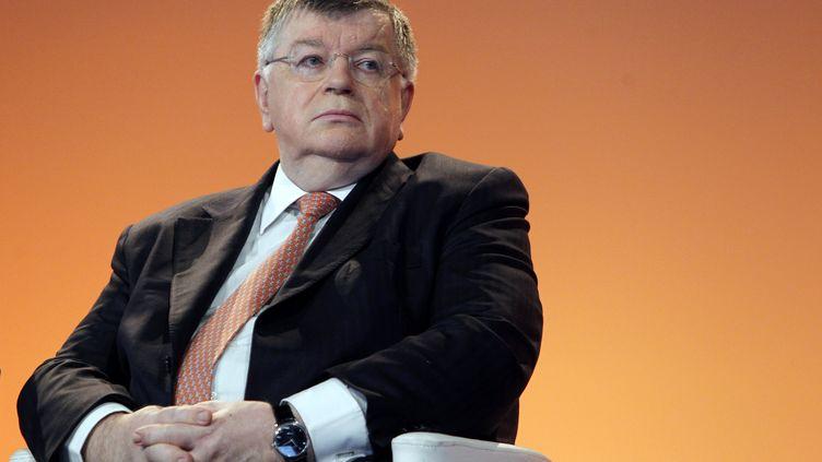L'ex-PDG de France Télécom Didier Lombard à Paris le 25 février 2010. (FRANCOIS GUILLOT / AFP)
