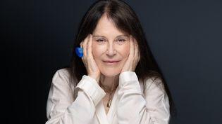 La romancière Irène Frain, le 22 septembre 2020 (JOEL SAGET / AFP)