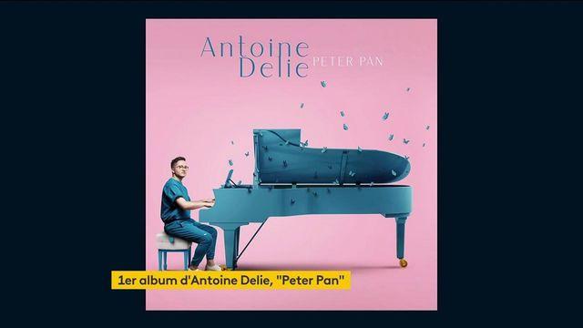 """Musique : """"Peter Pan"""", le premier album d'Antoine Delie est dans les bacs"""