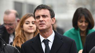 Manuel Valls, le 15 décembre 2016, à La Rochelle (XAVIER LEOTY / AFP)