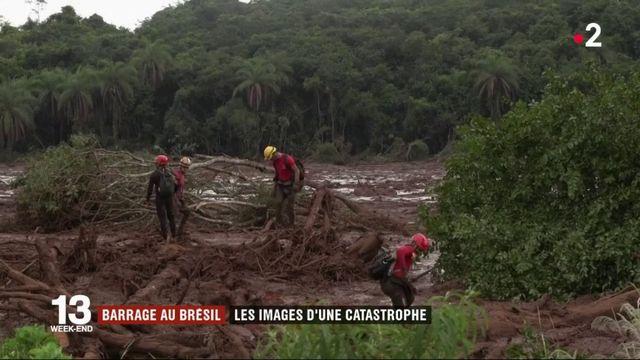 Barrage au Brésil : 121 morts et plus de 200 disparus