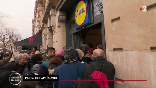 Pandémie : les supermarchés victime de la panique des Français