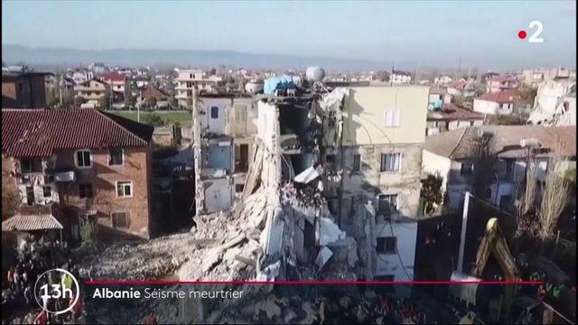 Albanie : un séisme d'une magnitude 6,4 a fait 13 morts et 150 blessés