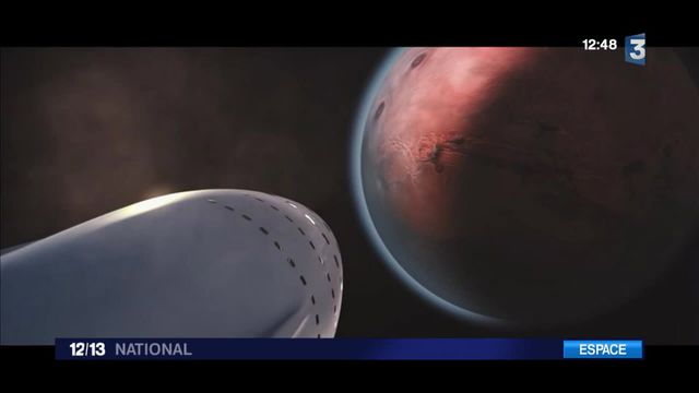 SpaceX : le milliardaire Elon Musk envisage des vols vers Mars