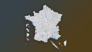 CARTE. Résultats des municipales 2020 : découvrez le candidat arrivé en tête du second tour dans votre commune (FRANCEINFO)