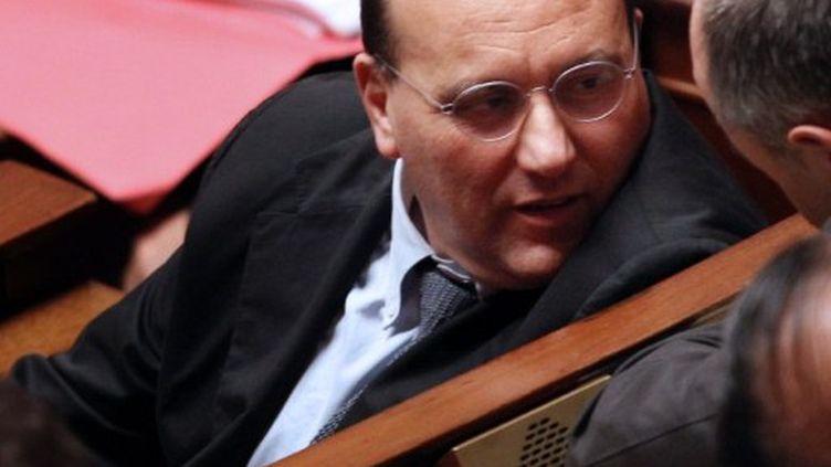 Julien Dray se retourne sur l'histoire (JACQUES DEMARTHON / AFP)