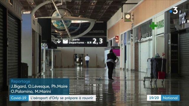 Aviation: l'aéroport d'Orly va ouvrir dès vendredi