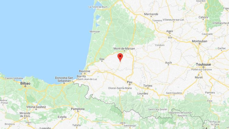 La prévenue avait été interpellée en mai 2017 à Horsarrieu, dans les Landes. (CAPTURE D'ÉCRAN GOOGLE MAPS)