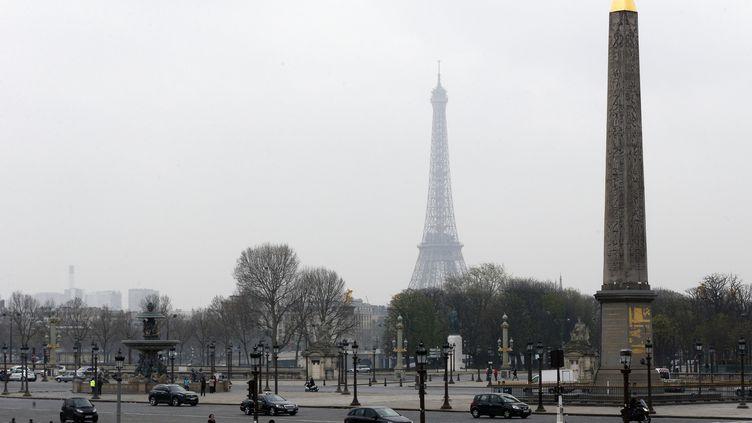 Plance de la Concorde, à Paris, le 15 mars 2014. (FRANCOIS GUILLOT / AFP)