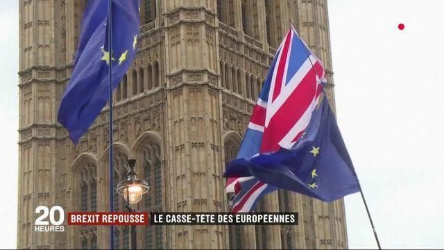 Brexit repoussé : le casse-tête des élections européennes