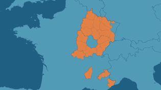 Coronavirus: 20 départements ciblés par le couvre-feu à 18 heures (FRANCE 2)