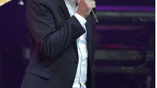 L'humoriste Pierre Palmade lors de l'edition 2015 des grands Prix de la SACEM (la Sociiete des auteurs, compositeurs et editeurs de musique) au theatre des Folies-Bergere. (SADAKA EDMOND/SIPA)