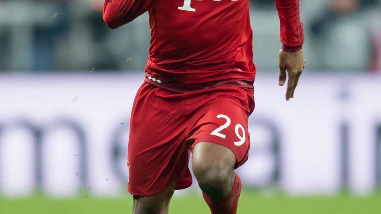 Le joueur du Bayern Munich, Kingsley Coman (SVEN HOPPE / DPA)