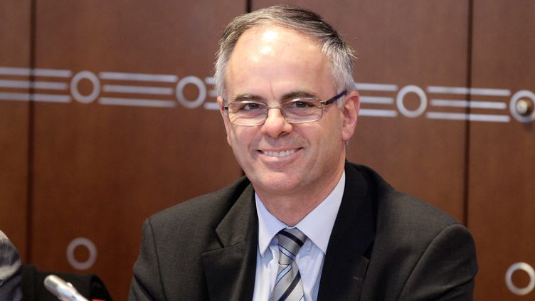 Michel Brault, directeur général de la Mutualité sociale agricole (VINCENT ISORE / MAXPPP)