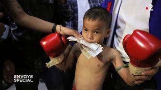 ENVOYÉ SPÉCIAL / FRANCE 2.Thaïlande : dès 6 ans, des enfants boxeurs montent sur le ring pour de l'argent (ENVOYÉ SPÉCIAL / FRANCE 2)