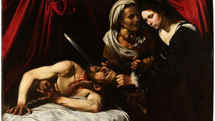 """""""Judith et Holopherne"""", tableau redécouvert en 2014 dans le grenier d'une maison de la région toulousaine. (Cabinet Eric Turquin)"""