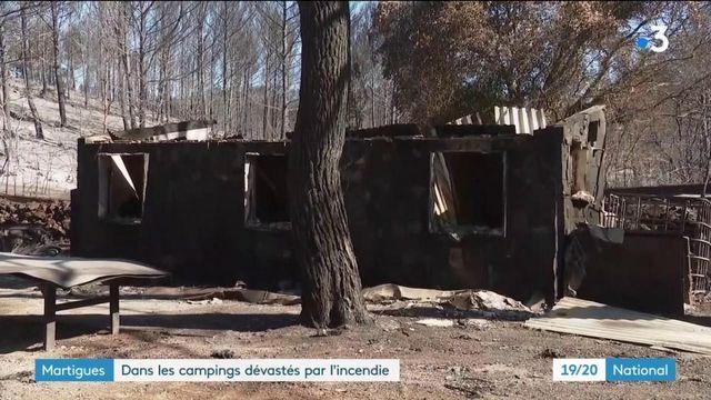Martigues : dans les campings dévastés par l'incendie