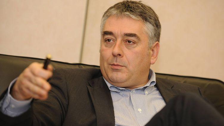 Gilles Bourdouleix, le maire de la ville de Cholet (Maine-et-Loire), le 29 janvier 2010. (MAXPPP MAXPPP MAXPPP)