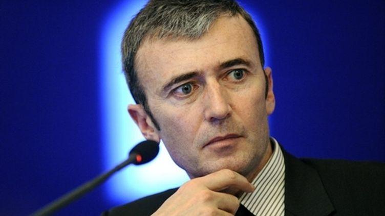 Brice Teinturier, Directeur Général Délégué d'Ipsos (France). (AFP - Bertrand Guay)