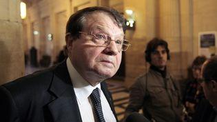 Le Professeur Luc Montagnier, le 11 octobre 2010, à la Cour d'appel de Paris. (JACQUES DEMARTHON / AFP)