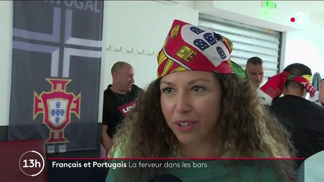 Euro 2021 : la ferveur des supporters français et portugais devant le match France-Portugal