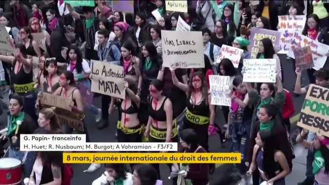 8 mars : de nombreuses manifestations pour la journée internationale du droit des femmes