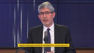 Gilles Bloch, PDG de l'Inserm. (FRANCEINFO / RADIOFRANCE)