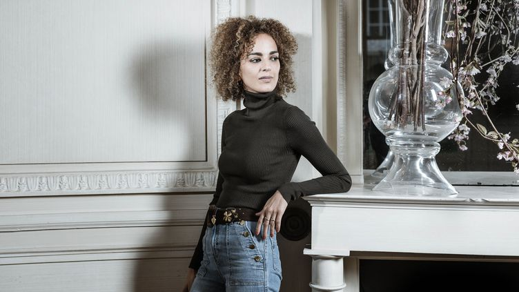 La romancière Leila Slimani, le 30 janvier 2020 (ERIC DESSONS/JDD/SIPA)