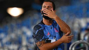 Eden Hazard, le 10 juillet 2020. (GABRIEL BOUYS / AFP)