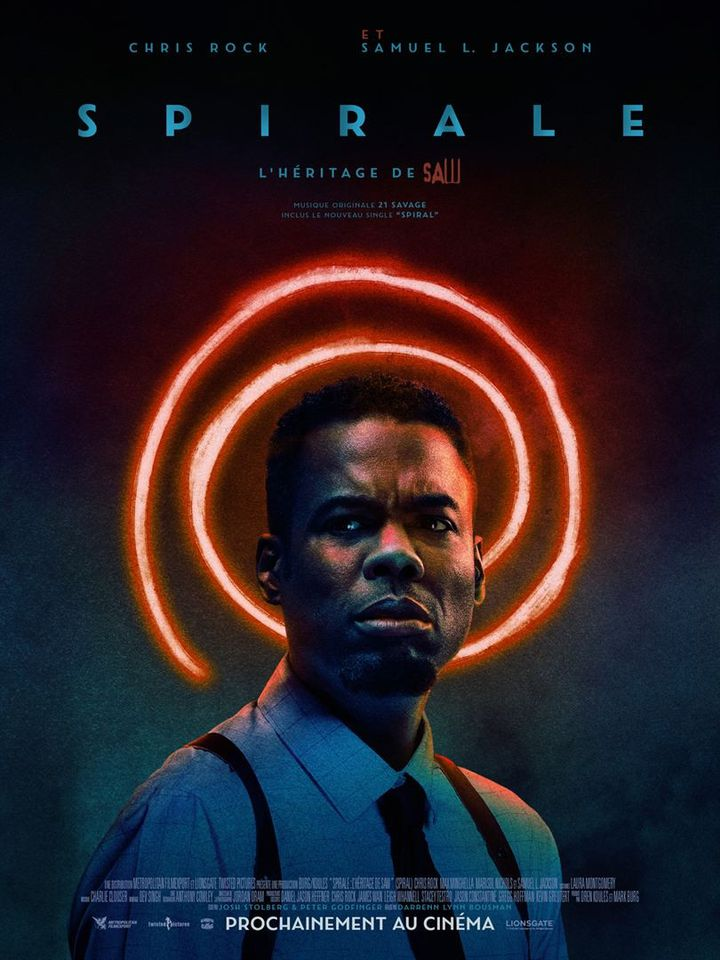 "L'affiche de""Spiral : l'héritage de Saw"" deDarren Lynn Bousman (2021). (METROPOLITAN FILMEXPORT)"