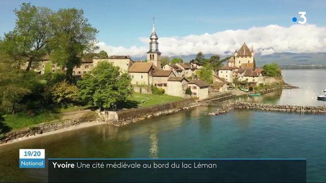 Haute-Savoie : la cité médiévale d'Yvoire, au bord du lac Léman