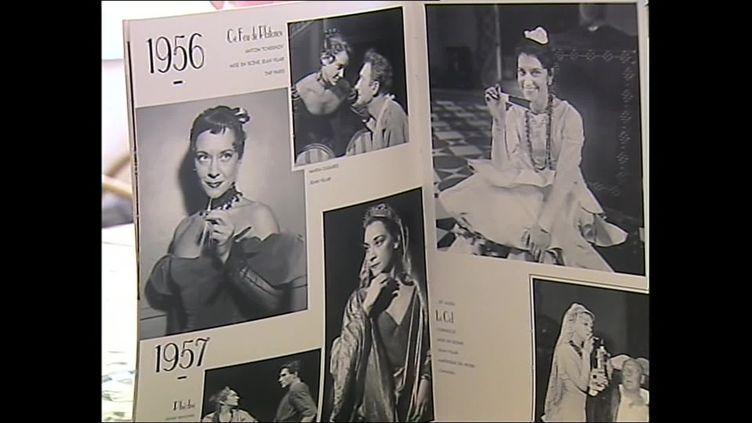 """Une visite guidée et mise en scène retrace la vie de la comédienne, qui a notamment joué dans """"Les Enfants du paradis"""". (France 3 Poitou-Charente)"""
