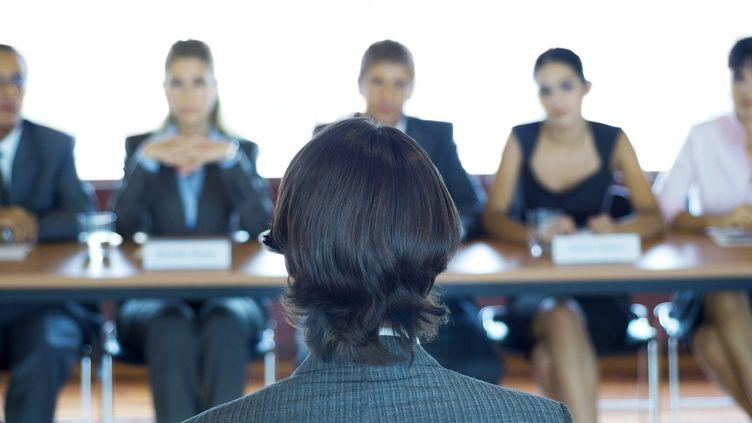 Un entretien d'embauche. (MAXPPP)